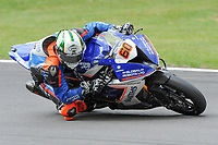 Peter Hickman of the Smiths Racing BMW team (No. 60) during Free Practice 3 at the 2017 BSB Round 6 - Brands Hatch GP Circuit at Brands Hatch, Longfield, England on Saturday 22 July 2017. Photo by David Purday/PRiME Media Images