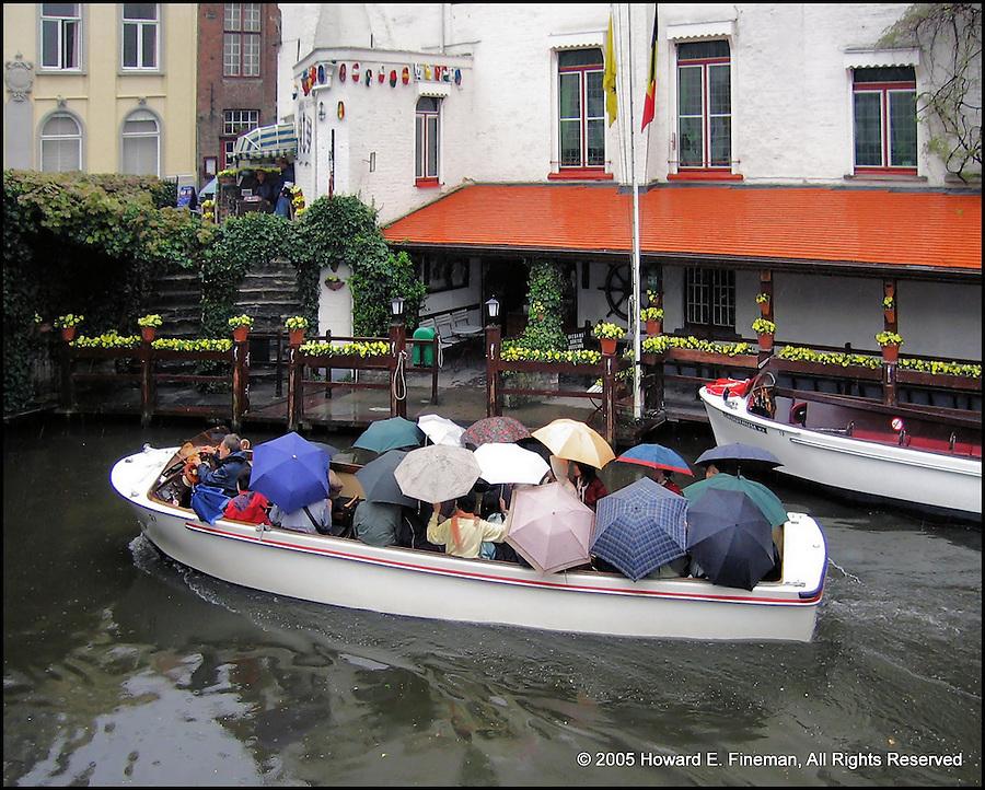 Brugge boat ride