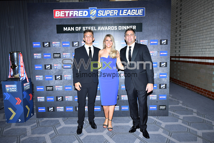 Picture by Simon Wilkinson/SWpix.com - 08/10/2018 - Rugby league 2018 Betfred Super League Steve Prescott Man of Steel Awards The Principal Hotel, Manchester