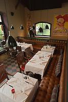 Europe/France/Aquitaine/33/Gironde/Bassin d'Arcachon/Arcachon: Hôtel Ville d'Hiver - La salle du restaurant [Non destiné à un usage publicitaire - Not intended for an advertising use]