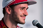 Daniel Abt of Germany from Audi Sport ABT Schaeffler attends the press conference after winning the FIA Formula E Hong Kong E-Prix Round 2 at the Central Harbourfront Circuit on 03 December 2017 in Hong Kong, Hong Kong. Photo by Victor Fraile / Power Sport Images