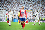 Atletico de Madrid Antoine Griezmann during La Liga match between Real Madrid and Atletico de Madrid at Santiago Bernabeu Stadium in Madrid, Spain. September 29, 2018. (ALTERPHOTOS/Borja B.Hojas)