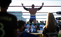 SAN JOSE, CA - SEPTEMBER 4: Luche Libre before a game between Colorado Rapids and San Jose Earthquakes at PayPal Park on September 4, 2021 in San Jose, California.