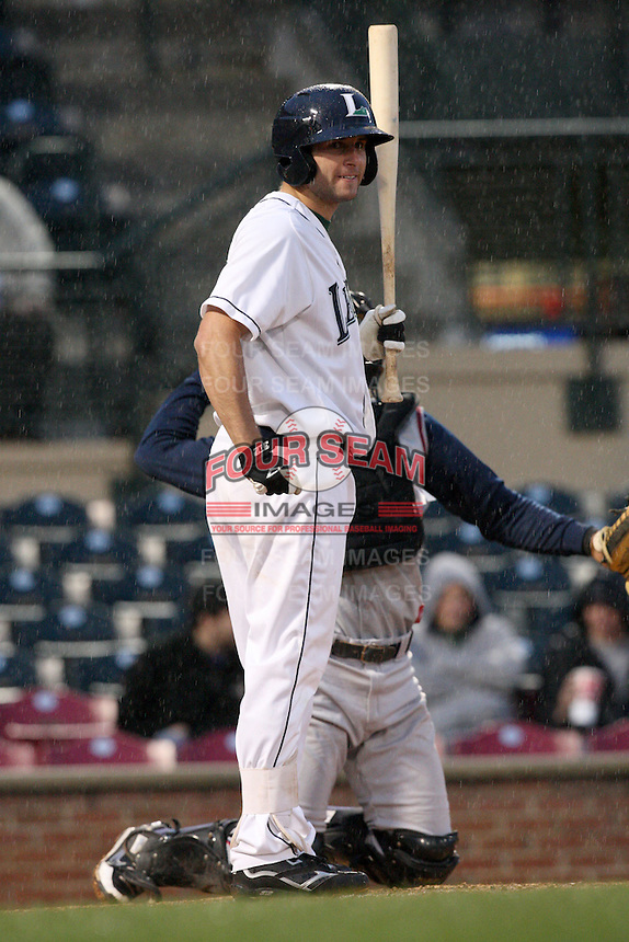 April 20, 2010: Aaron Bray (15) of the Lexington Legends at Applebee's Park in Lexington, KY. The Legends are the Class A affiliate of the Houston Astros. Photo by: Chris Proctor/Four Seam Images