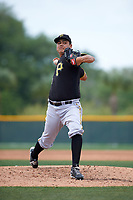 Pittsburgh Pirates Luis Heredia (81) during a minor league Spring Training game against the Toronto Blue Jays on March 24, 2016 at Pirate City in Bradenton, Florida.  (Mike Janes/Four Seam Images)