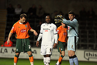 Pictured: Jason Scotland of Swansea City<br /> Picture by D Legakis / Athena Picture Agency, Swansea, 07815441513
