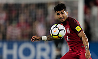 Orlando, FL - Friday Oct. 06, 2017: DeAndre Yedlin during a 2018 FIFA World Cup Qualifier between the men's national teams of the United States (USA) and Panama (PAN) at Orlando City Stadium.