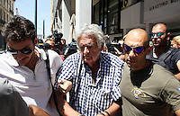 2016 08 17 Speedboat driver who caused the death of four people appears in court, Piraeus, Greece