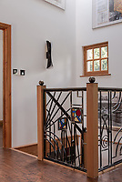 BNPS.co.uk (01202) 558833. <br /> Pic: UniquePropertyCompany/BNPS<br /> <br /> Pictured: First floor landing. <br /> <br /> Haus proud...<br /> <br /> A house designed in German Bavarian style in the south London commuter belt is on the market for £1.1m.<br /> <br /> Holly Lodge, a former pheasant shooting lodge and coaching inn, belonged to an engineer who fell in love with German architecture when he worked in the country.<br /> <br /> He bought and completely redesigned the building in the 1980s.<br /> <br /> The property, which is in the borough of Bromley, has four bedrooms, two bathrooms and two reception rooms.