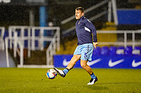 17th February 2021; St Andrews Stadium, Coventry, West Midlands, England; English Football League Championship Football, Coventry City v Norwich City; Kyle McFadzean of Coventry City warms-up prior to the match