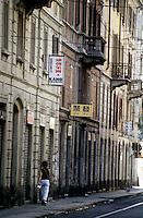 milano, quartiere sarpi - chinatown. via bramante --- milan, sarpi district - chinatown. bramante street