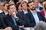 Pablo Casado and Jose Luis Martinez Almeida in the presentation of the Partido Popular program<br />  October 13, 2019. <br /> (ALTERPHOTOS/David Jar)