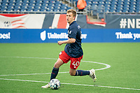 FOXBOROUGH, MA - APRIL 17: Sean O'Hearn #40 of New England Revolution II during a game between Richmond Kickers and Revolution II at Gillette Stadium on April 17, 2021 in Foxborough, Massachusetts.