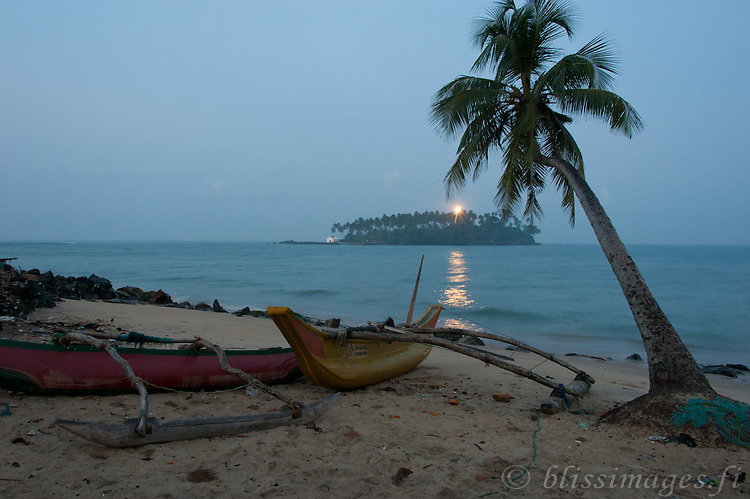 Daybreak at Barberyn Lighthouse - Beruwala, Sri Lanka