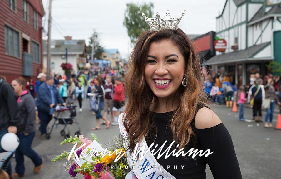 Abigail Dominguiano, Miss Washington's Outstanding Teen, Viking Fest 2016, Poulsbo, WA, USA.