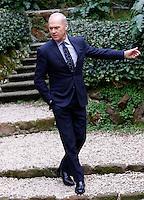 L'attore statunitense Michael Keaton posa durante un photocall per la presentazione del film 'Il caso Spotlight' a Roma, 23 gennaio 2016.<br /> U.S. actor Michael Keaton poses during a photocall for the presentation of the movie 'Stoplight' in Rome, 23 January 2016.<br /> UPDATE IMAGES PRESS/Riccardo De Luca