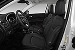Front seat view of a 2018 Jeep Compass Limited 4WD 5 Door SUV front seat car photos