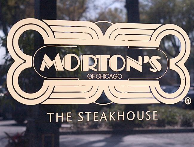 Morton's of Chicago, The Steakhouse, Dr. Phillips Marketplace, Orlando, Florida