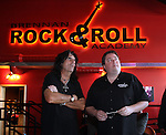 Alice Cooper dedication at the Brennan Rock & Roll Academy