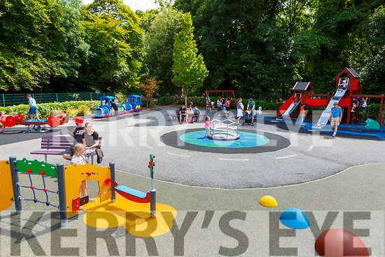 the Killarney Playground which reopened after an upgrade over the weekend