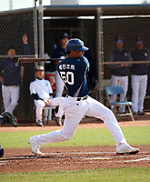 Christian Bethancourt - NC Dinos of the Korean Baseball Organization 2019 spring training (Bill Mitchell)
