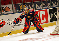 Goalie Daniel LArsson (Djurgarden)<br /> Djurgardens IF vs. Lelea HF<br /> *** Local Caption *** Foto ist honorarpflichtig! zzgl. gesetzl. MwSt. Es gelten ausschließlich unsere unter <br /> <br /> Auf Anfrage in höherer Qualitaet/Aufloesung. Belegexemplar an: Marc Schueler, Am Ziegelfalltor 4, 64625 Bensheim, Tel. +49 (0) 6251 86 96 134, www.gameday-mediaservices.de. Email: marc.schueler@gameday-mediaservices.de, Bankverbindung: Volksbank Bergstrasse, Kto.: 151297, BLZ: 50960101