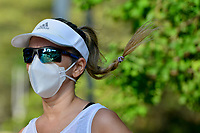 CALI - COLOMBIA, 27-04-2020: Hoy se dió inicio a la reactivación deportiva individual  en la ciudad de Cali durante el día 35 de la cuarentena total en el territorio colombiano causada por la pandemia  del Coronavirus, COVID-19. / Today starts the individual sports revival in Cali City during the day 35 of total quarantine in Colombian territory caused by the Coronavirus pandemic, COVID-19. Photo: VizzorImage / Gabriel Aponte / Staff