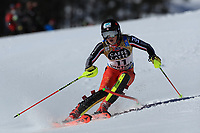 20th February 2021; Cortina d'Ampezzo, Italy; FIS Alpine World Ski Championships, Women's Slalom