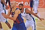 League ACB-ENDESA 2020/2021 - Game: 1.<br /> Barça vs Hereda San Pablo Burgos: 89-86.<br /> Nik Calathes vs Omar Cook.