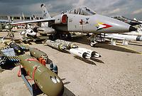 - Italian Air Force, strike aircraft AMX ....- Aeronautica Militare Italia, aereo da attacco AMX ....