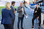 Rangers v St Mirren:  Nikola Katic with Alex Rae, Neil McCannand Emma Dodds