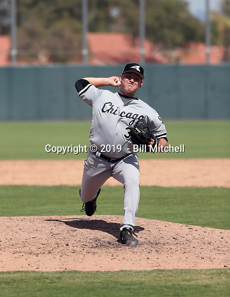 Tyson Messer - 2019 AIL White Sox (Bill Mitchell)