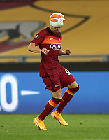 Football Soccer: Europa League -Round of 16 1nd leg AS Roma vs FC Shakhtar Donetsk, Olympic Stadium. Rome, Italy, March 11, 2021.<br /> Roma's Stephan El Shaarawy in action during the Europa League football soccer match between Roma and  Shakhtar Donetsk at Olympic Stadium in Rome, on March 11, 2021.<br /> UPDATE IMAGES PRESS/Isabella Bonotto