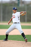 January 17, 2010:  Luis Torres (Ceiba, PR) of the Baseball Factory Atlantic Team during the 2010 Under Armour Pre-Season All-America Tournament at Kino Sports Complex in Tucson, AZ.  Photo By Mike Janes/Four Seam Images