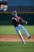 Daniel Gage Jordan during the Under Armour All-America Tournament powered by Baseball Factory on January 19, 2020 at Sloan Park in Mesa, Arizona.  (Zachary Lucy/Four Seam Images)