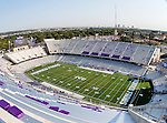 TCU Horned Frogs stadium before the game between the Virginia Cavaliers and the TCU Horned Frogs  at the Amon G. Carter Stadium in Fort Worth, Texas. TCU defeats Virginia 27 to 7...