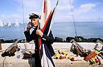 Cowes Regatta, Isle of Wight 1986 UK.