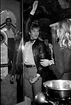 HELMUT BERGER CON BEATRICE GIORGI<br /> EASY GOING ROMA 1978
