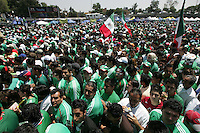 Mexican fans enter Azteca stadium. The United States Men's National Team played Mexico in a CONCACAF World Cup Qualifier match at Azteca Stadium in, Mexico City, Mexico on Wednesday, August 12, 2009.