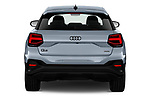 Straight rear view of 2021 Audi Q2 Edition-One 5 Door SUV Rear View  stock images