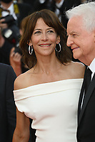 CANNES, FRANCE. July 7, 2021: Sophie Marceau & Andre Dussollier at the Everything Went Fine Premiere at the 74th Festival de Cannes.<br /> Picture: Paul Smith / Featureflash