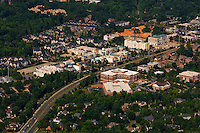 Aerial photo of Phillips Place mall in Charlotte, NC, taken May 2008.