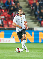 Mats HUMMELS, DFB 5  <br /> Czech Republic - Germany 1-2, group C<br /> FIFA World Championships Qualifiers 01.09.2017 in Prag, Czech Republic.<br /> <br />  *** Local Caption *** © pixathlon +++ tel. +49 - (040) - 22 63 02 60 - mail: info@pixathlon.de