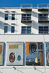 The Piper Building. Fulham London UK. The John Piper Murals.
