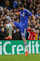 Diego Costa of Chelsea during the UEFA Champions League Group match between Chelsea and Dynamo Kyiv at Stamford Bridge, London, England on 4 November 2015. Photo by David Horn.