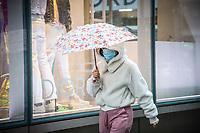 NOVA YORK, EUA, 23.03.2020 - CORONAVIRUS-EUA - Autoridades de Nova York disponibilizou transporte de onibus gratuito na cidade para auxiliar os trabalhadores durante o periodo da pandemia de Coronaviru Covid-19 em Nova York nos Estados Unidos. (Foto: Vanessa Carvalho/Brazil Photo Press)