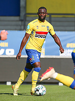 Igor Vetokele (25) of Westerlo with the ball during a friendly soccer game between KVC Westerlo and Belgium U21 on Tuesday 30 th of March 2021  in Het Kuipje , Westerlo Belgium . PHOTO SPORTPIX.BE | SPP | SEVIL OKTEM