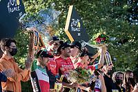 Team Bahrein-Victorious wins the Teams Classification<br /> <br /> Stage 21 (Final) from Chatou to Paris - Champs-Élysées (108km)<br /> 108th Tour de France 2021 (2.UWT)<br /> <br /> ©kramon