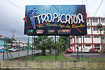 Tropicana Club Billboard