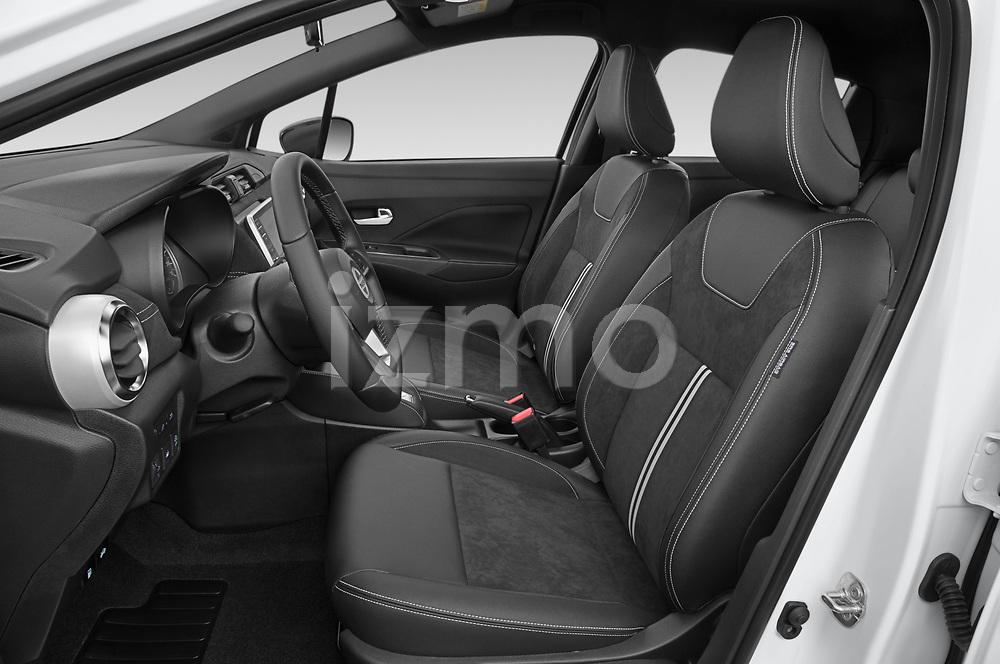 Front seat view of 2021 Nissan Micra N-Sport 5 Door Hatchback Front Seat  car photos